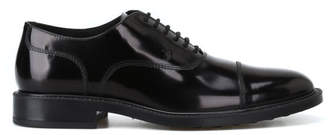 Tod's Tods Brushed Leather Oxford Lace-up Shoes