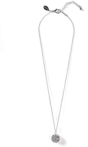 Fine Chain Fireball Necklace