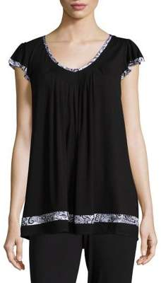 Ellen Tracy Yours To Love Top