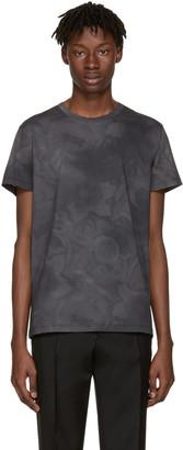 Jil Sander Grey Flower T-Shirt $160 thestylecure.com