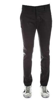 Dondup Dark Grey Wool Pants
