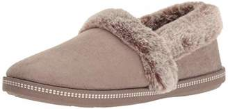 Skechers Women's Cozy Campfire - Team Toasty - Microfiber Slipper with Faux Fur Lining