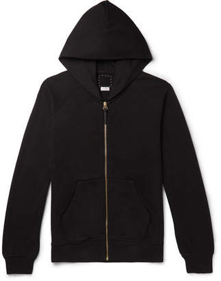Visvim Jv Slim-Fit Cotton-Jersey Zip-Up Hoodie