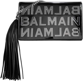 Balmain Logo Mirror Crossbody Bag
