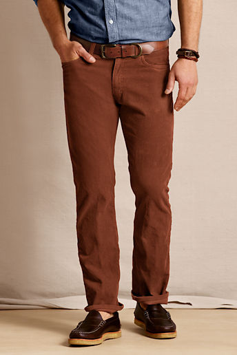 Lands' End Canvas Men's 5-pocket Straight Fit Cords