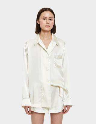 Araks Kate PJ Top in Porcelain Silk