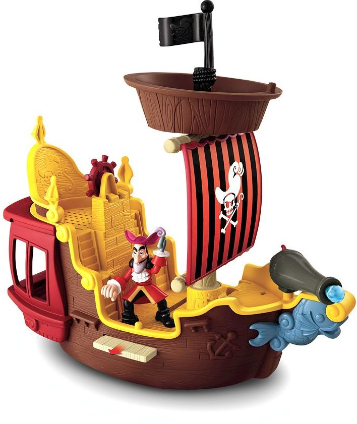 Fisher-price Disney Jake and the Never Land Pirates Hook's Jolly Roger by Fisher-Price