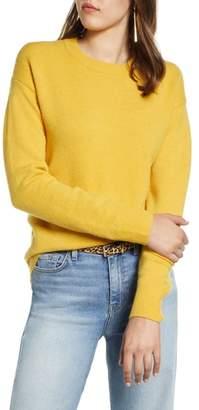 Halogen Crewneck Wool Blend Sweater