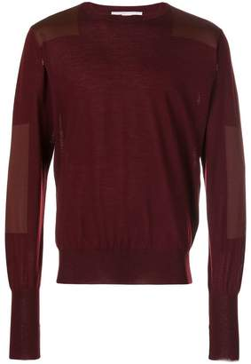 Stella McCartney two tone sweater