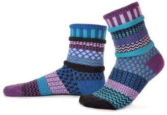 Solmate Socks Mismatched Knit Socks
