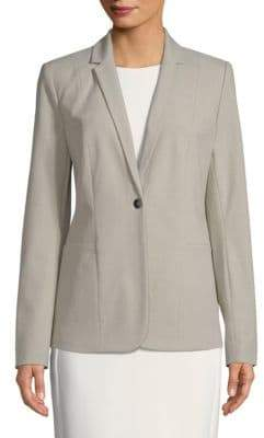 Tahari Queena Single Button Blazer