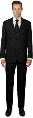 Alain Dupetit Men's THREE Piece TR Blend Suit 40R