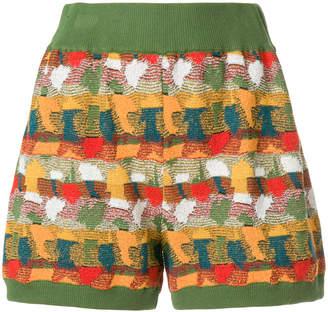 Roberto Collina jacquard knit shorts