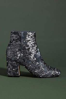 Faryl Robin Linda Sequin Ankle Boots