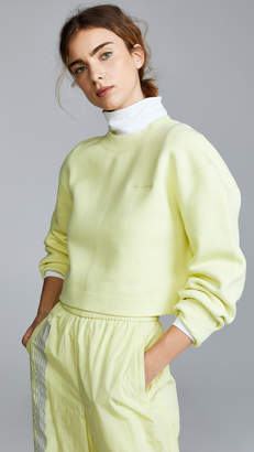 Alexander Wang Terry Cropped Pullover