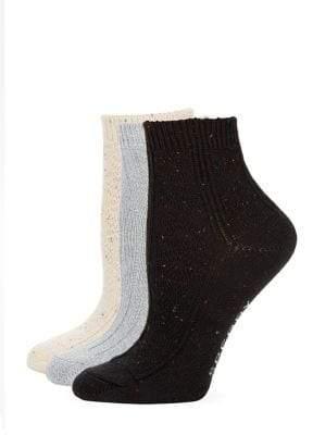 Sperry Set of Three Knit Socks