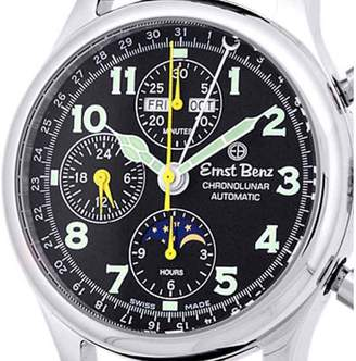 "Ernst Benz ChronoLunar"" Stainless Steel Mens Watch"