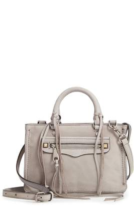 Rebecca Minkoff Micro Regan Leather Satchel