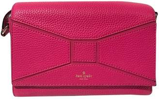 Kate Spade Pink Leather Clutch Bag
