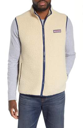 Vineyard Vines High File Fleece Vest