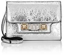 Proenza Schouler Women's PS11 Leather Strap Wallet - Silver
