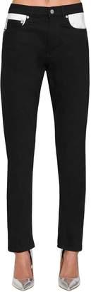 Calvin Klein Jeans Slim Mid Rise Cotton Blend Denim Jeans