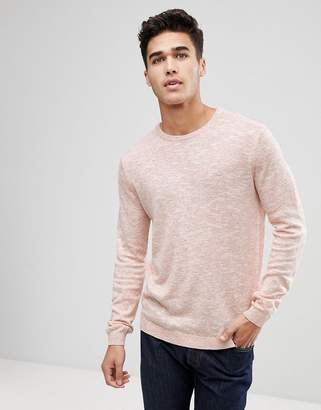 ONLY & SONS Knitted Sweater With Marl Fleck