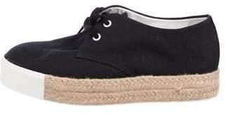 Hermes Lace-Up Flatform Sneakers