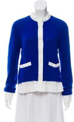 Marni Cashmere Mixed Media Sweater
