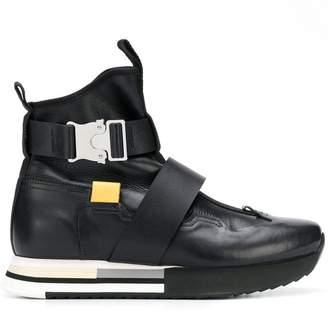 Artselab rollercoaster buckle sneaker boots