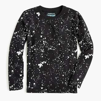 J.Crew Kids' long-sleeve splatter-painted T-shirt