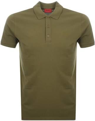 HUGO By BOSS Donos Polo T Shirt Khaki