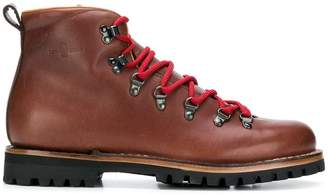 Car Shoe lace-up boots