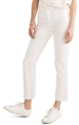 Madewell Cali Raw Edge Demi Boot Jeans