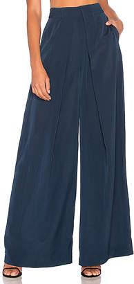 AQ/AQ Serena Trouser in Blue $155 thestylecure.com