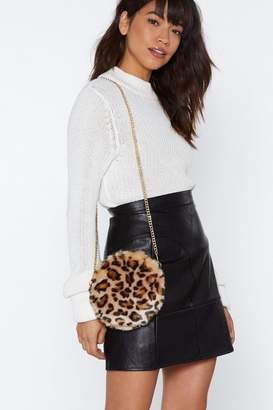 Nasty Gal WANT Leopard's Share Crossbody Bag