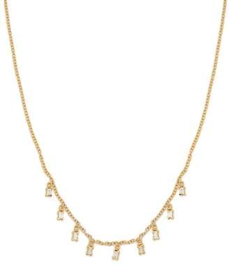 Ileana Makri Diamond & Yellow Gold Necklace - Womens - Gold