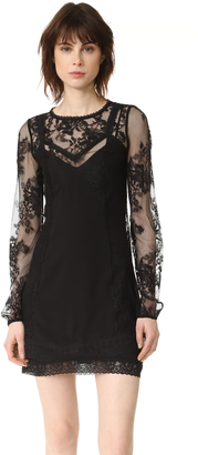 McQ - Alexander McQueen Lace Slip Dress $695 thestylecure.com