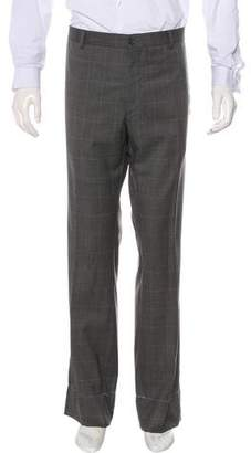 Ralph Lauren Purple Label Flat Front Wool Pants