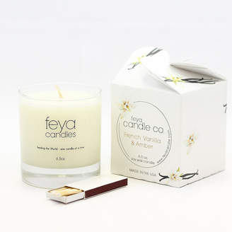 Asstd National Brand Feya Candle 6.5oz French Vanilla & Amber Soy Candle
