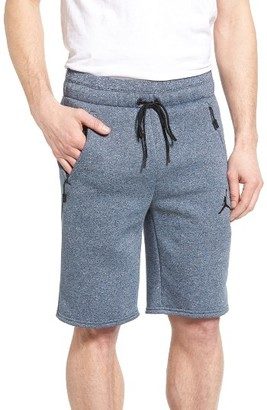 Men's Nike Jordan Icon Fleece Shorts $65 thestylecure.com