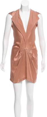 Roland Mouret Silk Mini Dress