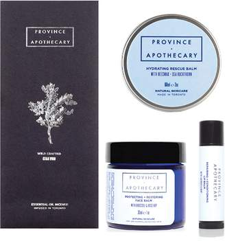 Province Apothecary Winter Face Balm Kit