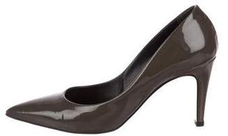 Bottega Veneta Patent Leather Pointed-Toe Pumps