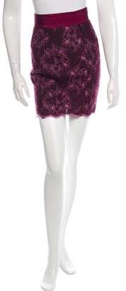 L'Wren Scott Classic Lace Mini Skirt w/ Tags