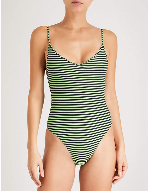 LES GIRLS LES BOYS Stripe swimsuit