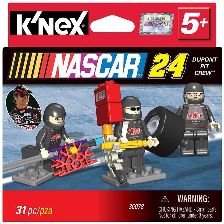 Dupont Nascar jeff gordon pit crew set by k'nex