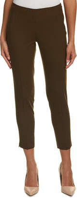 Lafayette 148 New York Side-Zip Wool-Blend Crop Pant