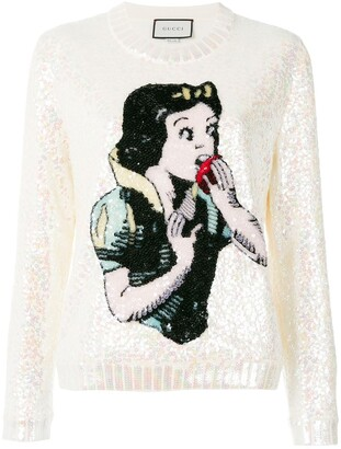 Gucci Snow White knit sweater