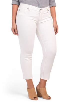 Zip Pocket Ankle Skinny Jeans